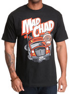 Men Mad Chad Tee Black Xx-Large