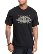 Men Game Hunters Tee Black Medium