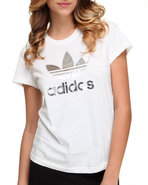 Women Trefoil Tee White X-Small