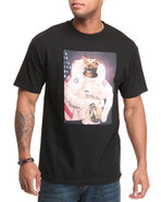 Men Man's Best Friend Tee Black Medium