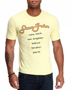 Men S J International S/S Tee Yellow Xx-Large