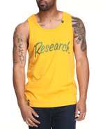 Lrg Men Big Research Tank Top Gold Xx-Large