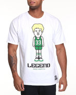 Men Legend T-Shirt White Large