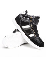 Men Hightop Sneaker Black 8.5
