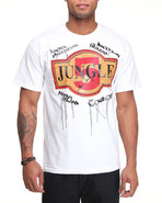 5Ive Jungle Men Tiles Tee White Large