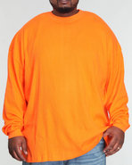 Men Basic Thermal (B & T) Orange 5X-Large