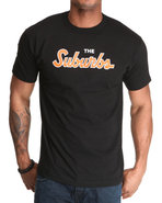 Men Suburbs Tee Black X-Large