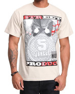 5Ive Jungle Men Street Product Tee Khaki Large