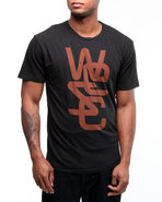 Wesc Men Overlay Tee Black X-Large