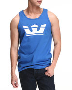 Men Icon Tank Blue Xx-Large
