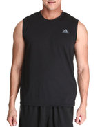 Men Clima Ultimate Sleeveless Tee Black Small