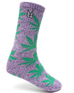 Huf Men Huf X Snoop Snoop Plantlife Socks Purple