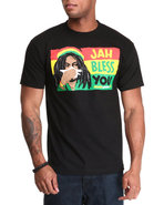 Men Jah Bless You Tee Black X-Large