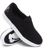 Men No Strings Attached Slip-On Sneakers Black 12