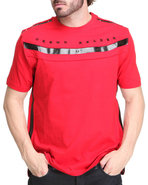Men Crown Tee Red X-Large