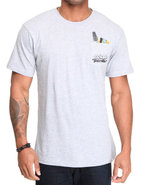 Men Kitted Tee Grey X-Large