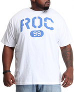 Men Roc 99 S/S Tee (B&T) White 3X-Large