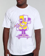 Men Mascot Tee White Medium