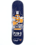 Men Only The Finest 8  Skate Deck