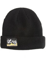 Lrg Men Core Collection Two Acrylic Beanie Black