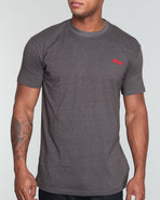 Men Circuit Performance Tee Charcoal Small