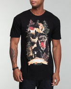Men Animowls Tee Black X-Large