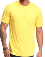 Men Swoosh Tee Yellow Small