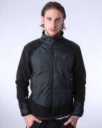 Men Nomadic Wolf Zip-Up Fleece Black X-Large