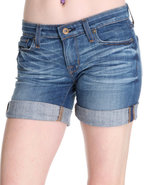 Women&#39;s Remy Shorts W/ Star Pckt Detail Medium Was