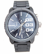 Men Unisex Franchise 51Mm Gun Metal Face W/ Link B