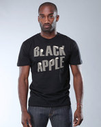 Djp Outlet Men Black Apple Tee Black X-Large