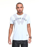 G-Star Men Recruit Graphic S/S Tee Light Blue Xx-L