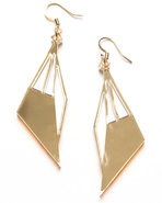 Women's Butterfly Earrings Gold
