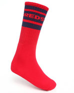 Men Physical Socks Red