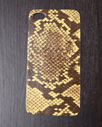 Djp Outlet Women's Python Premium Leather Iphone S