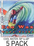 Wave Tribe Eco Wax Cool Water 5 Pack