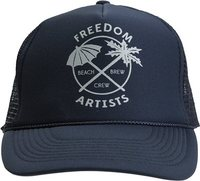 BEACH BREW HAT Navy Blue