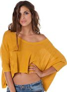 ALA MODE SWEATER PULLOVER Mustard Yellow