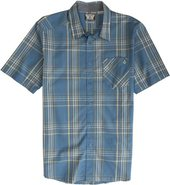 WHY FACTOR PLAID SS SHIRT Large