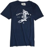 X GENTLEMEN'S COLLECTION TEE Large Navy Blue