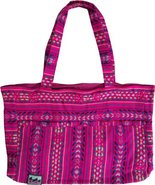 BEACH CRAVINGS TOTE Fuchsia Pink