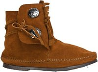 Minnetonka Two Button Boot
