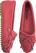 KILTY MOCCASIN Coral Pink Red