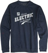 LTD CREW FLEECE Small Navy Blue