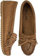 KILTY PEACE SIGN MOCCASIN