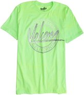 80'S ART TEE Small Lime Green