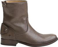 MELISSA BACK ZIP SHORT BOOT