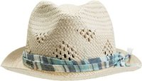 CAHUENGA FEDORA Natural White