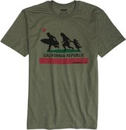 O'NEILL CAUTION SS TEE Medium Olive Green