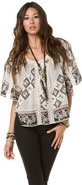 GONE ROGUE PEASANT TOP Large